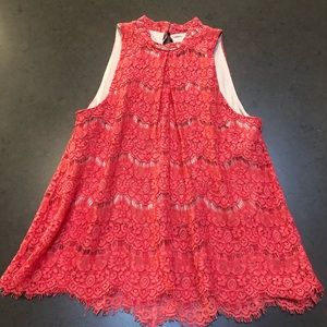 love, Fire Lace Summer Top